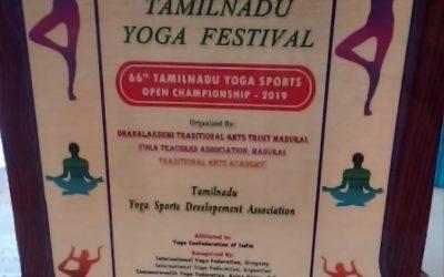 Yoga Competition Awards